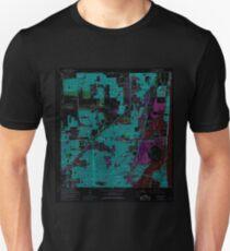 USGS TOPO Map Florida FL North Miami 347687 1962 24000 Inverted Unisex T-Shirt