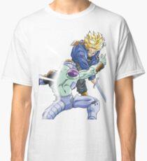 Trunks vs. Cyborg Frieza  Classic T-Shirt