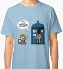 Dr Who - Tardis Doctors chibi Classic T-Shirt