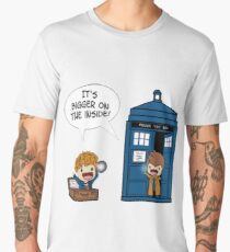 Dr Who - Tardis Doctors chibi Men's Premium T-Shirt