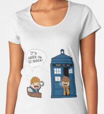 Dr Who - Tardis Doctors chibi Women's Premium T-Shirt