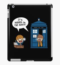 Dr Who - Tardis Doctors chibi iPad Case/Skin
