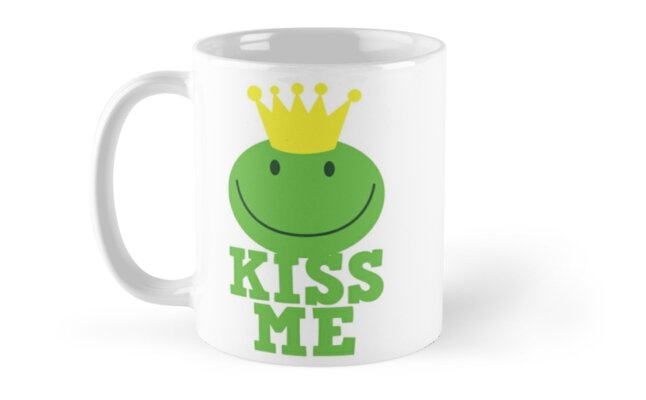 Kiss me frog prince by jazzydevil