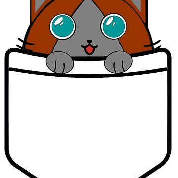 Cat in pocket 3 by Neoxision