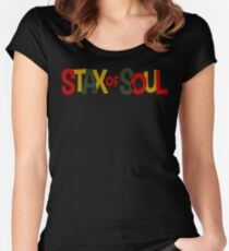 the stax of soul Women's Fitted Scoop T-Shirt