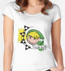 Link-182 - Master Quest! Women's Fitted Scoop T-Shirt