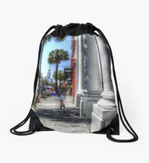 Street in Charleston Drawstring Bag