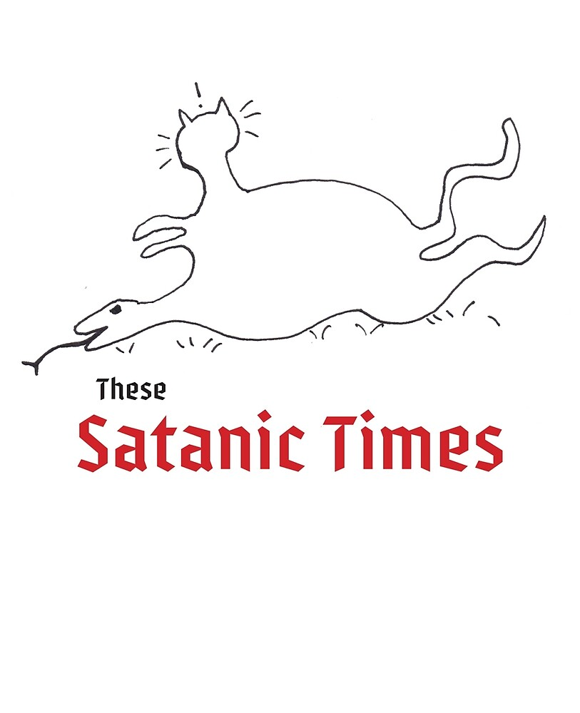 These Satanic Times by LittleBearShop