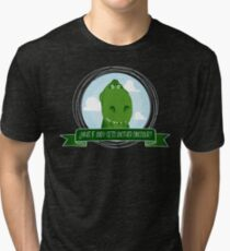 Rex is scared Tri-blend T-Shirt