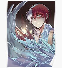 My Hero Academia  - Shoto Ice and Fire Poster and etc Poster