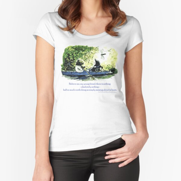 Messing About in Boats Fitted Scoop T-Shirt