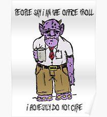 Office Troll Poster