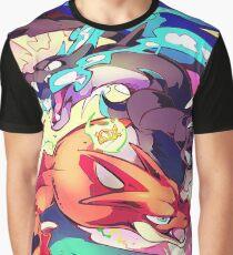 Mega Charizard XY! - Poster Graphic T-Shirt