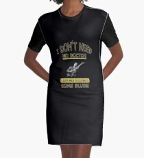 I Just Need To Listen To... Graphic T-Shirt Dress