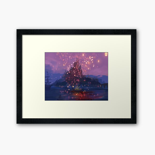 I See The Light Framed Art Print