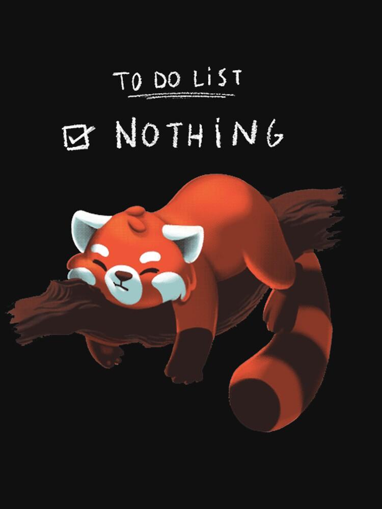 Roter Panda - Faul, Liste zu tun von DoxFox
