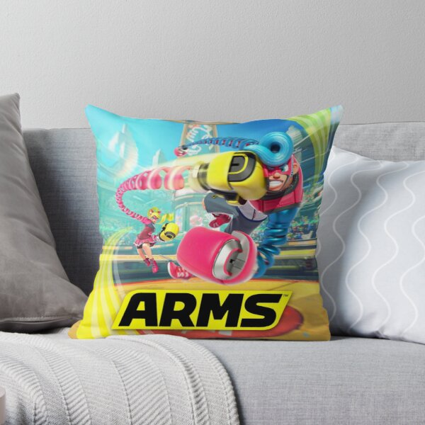 ARMS Throw Pillow
