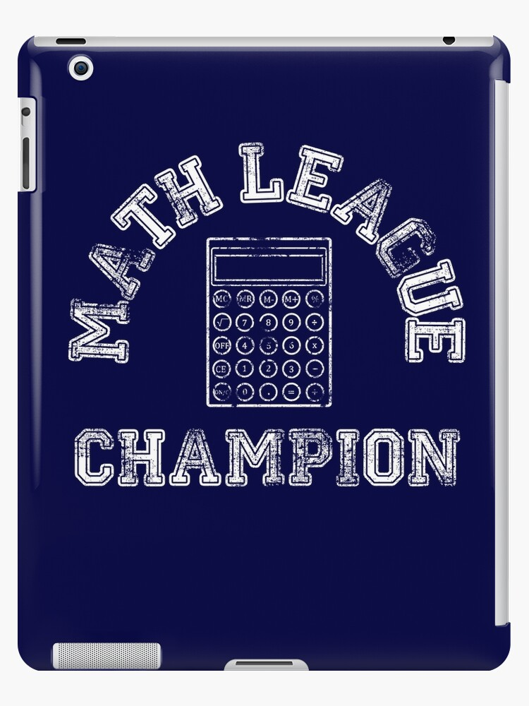 Math League Champion by bethcentral