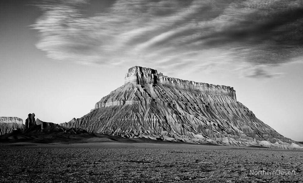 Factory Butte, Utah by NorthernDesert