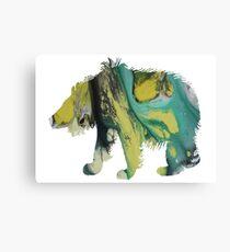 sloth bear  Canvas Print