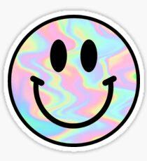 Trippy Smiley Sticker