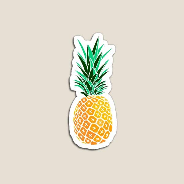Artsy Pineapple Magnet