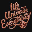 Lebe das Universum und alles - Hitchikers Guide von DoxFox