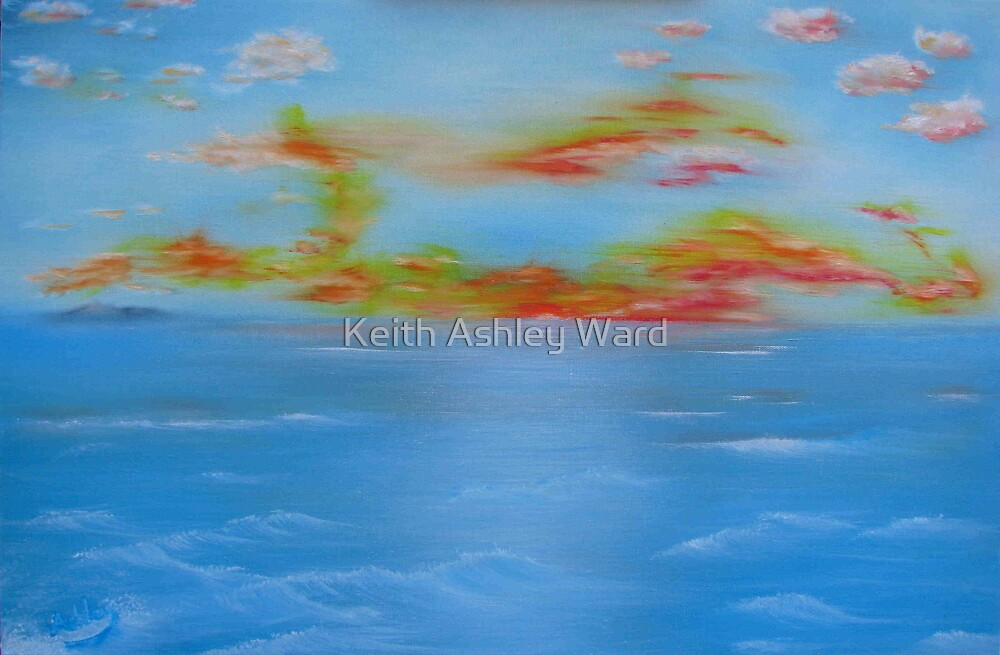 Blue Horizon by Keith Ashley Ward
