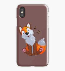 Singing, swinging foxy iPhone Case