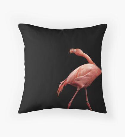 Flamingo Dance Throw Pillow
