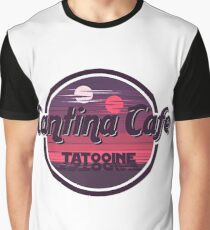 Cantina Band Cafe Tatooine Shirt Graphic T-Shirt