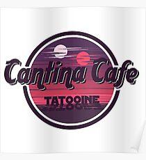 Cantina Band Cafe Tatooine Shirt Poster