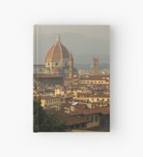 Hot Summer Afternoon in Florence Italy Hardcover Journal