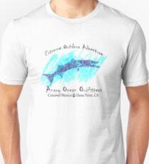 DEEP SEA FISHING BARRACUDA ANGRY OCEAN OUTFITTERS FISH ATLANTIC PACIFIC CARIBBEAN SEA T-Shirt
