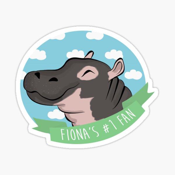 Fiona's #1 Fan Sticker