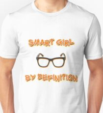 Smart Girl By Definition Unisex T-Shirt