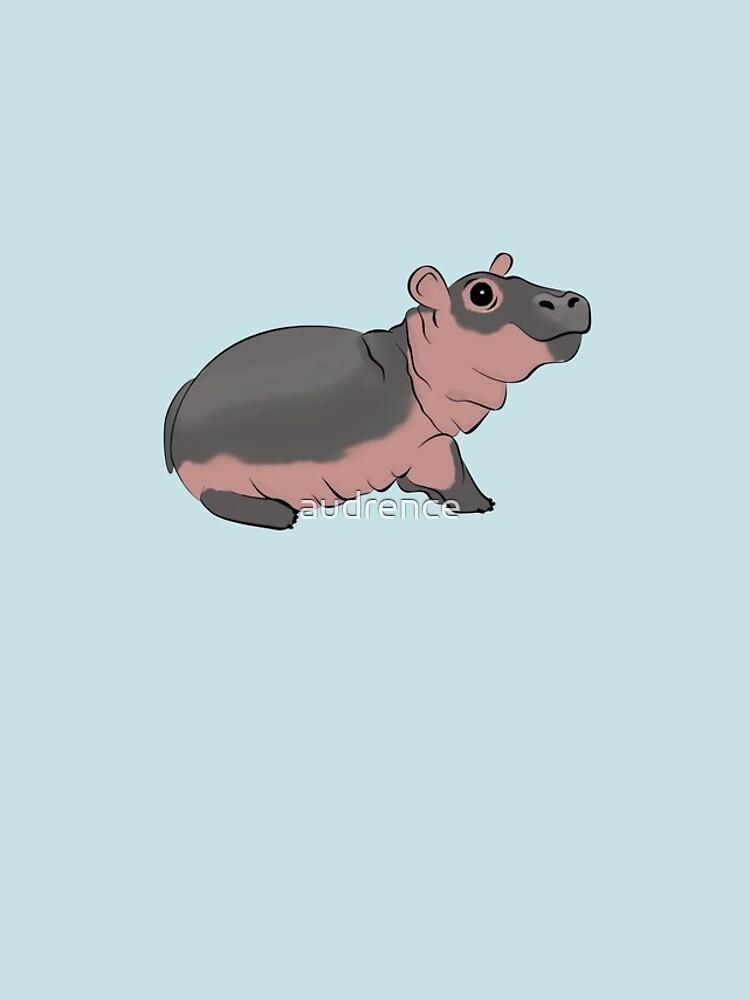 Fiona das Baby Hippo von audrence