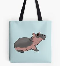 Fiona the Baby Hippo Tote Bag