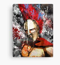 Spartan Furry Canvas Print