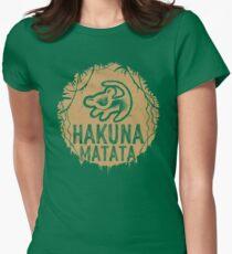 Hakuna Matata Womens Fitted T-Shirt