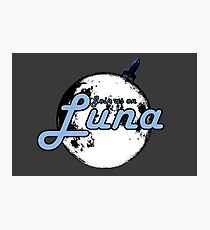 Join Us On Luna Photographic Print