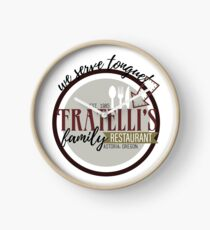 Fratellis Familienrestaurant Uhr
