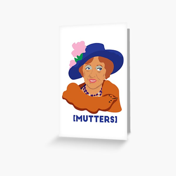 Aunt Clara - Mutters Greeting Card