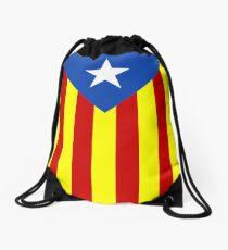 Estelada Catalunya independencia Drawstring Bag