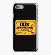 ISIS Hunting permit iPhone Case/Skin