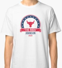 """The Rock"" Johnson for President 2020 Classic T-Shirt"