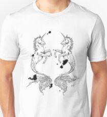 Mermaidunicorns Unisex T-Shirt