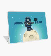 Moon Bear on the Moon Laptop Skin