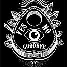 Call Me on the Ouija Board by lilloafdesigns