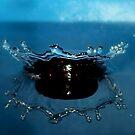 Blue Tiara by funkyfacestudio